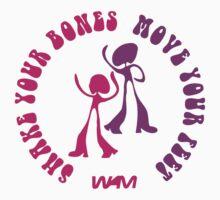 Shake your bones One Piece - Short Sleeve