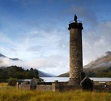Glenfinan Monument by Simon Bowen