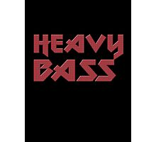 Heavy Bass T-Shirt - I Love Bass Music Top Photographic Print