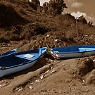 Lonely Boats by Omar Dakhane