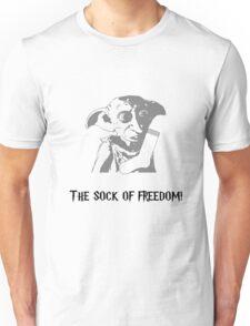 The Sock of Freedom Unisex T-Shirt