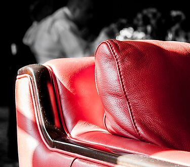 The Red Chair by lendale