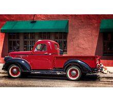 Boulder Truck Photographic Print