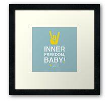 Inner Freedom, Baby Framed Print