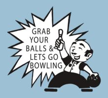 Very Funny Bowling T-Shirt Kids Clothes