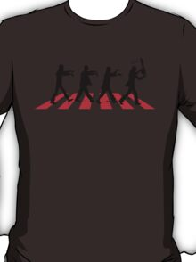 Zombies on Abbey Road (Version 02) T-Shirt