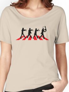 Zombies on Abbey Road (Version 02) Women's Relaxed Fit T-Shirt