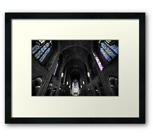 Church of the Heavenly Rest Framed Print