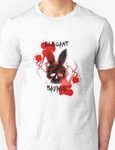 Elegant Savage Skull-Bunny  T-Shirt