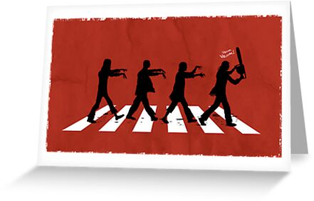 Zombies on Abbey Road (Version 02) by soulthrow