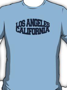 Los Angeles California - navy T-Shirt
