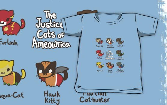 The Justice Cats of Ameowrica by Keyyu