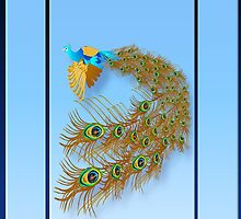 Flying Peacock by Lotacats
