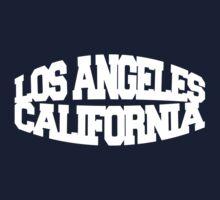 Los Angeles California - white One Piece - Short Sleeve