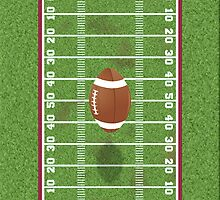 Football Field by waywardtees