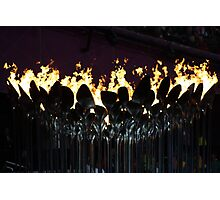 Olympic Flame Photographic Print