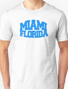 Miami Florida - blue T-Shirt