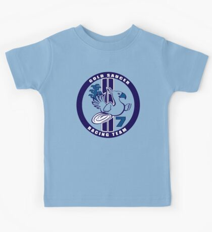 Gold Saucer Racing Team Kids Tee
