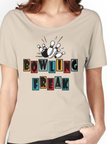 Funny Bowling T-Shirt Women's Relaxed Fit T-Shirt