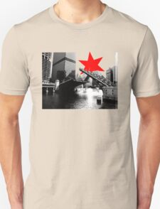 State Street Chicago River Bridge Tee T-Shirt