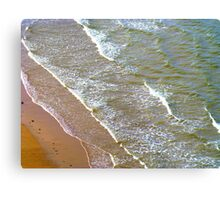 Rolling Gently To The Shore Metal Print