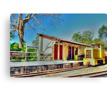 woodford station  Canvas Print