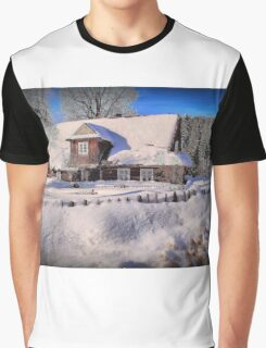 Sunny day after a snow storm  Graphic T-Shirt