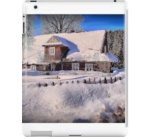 Sunny day after a snow storm  iPad Case/Skin
