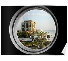 St. Pete through the Circle Poster