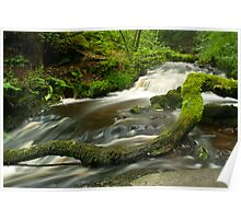 STEETON WATERFALLS Poster