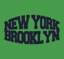 New York Brooklyn - navy One Piece - Short Sleeve