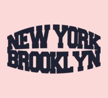 New York Brooklyn - navy Kids Tee