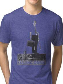 Falling Down Tri-blend T-Shirt