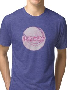 french open tennis amour Tri-blend T-Shirt