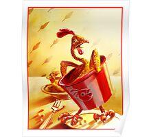 Bucket - O - Chicken Poster