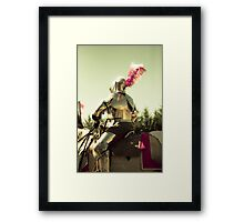 My knight in shining armour Framed Print