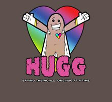 Hugg - Saving the world, one hug at a time. Unisex T-Shirt