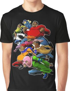 Fat Albert and the Gang Ready for battle Graphic T-Shirt
