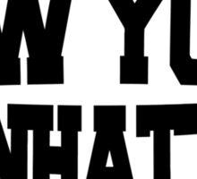 New York Manhattan Sticker
