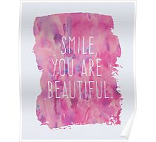 You Are Beautiful Quote Poster