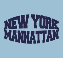 New York Manhattan - navy One Piece - Short Sleeve