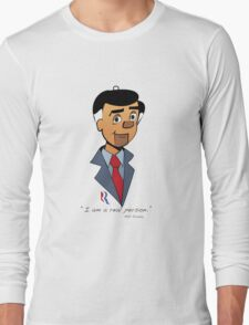 Politics: Mitt Romney Long Sleeve T-Shirt
