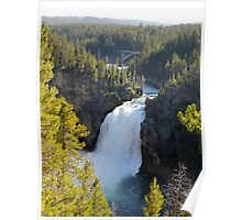 Upper Falls of Yellowstone Poster