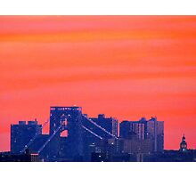 New York City evening  Photographic Print