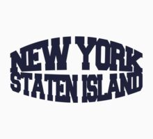 Staten Island - navy One Piece - Long Sleeve