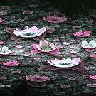Pink Petal Garden by abstractjoys