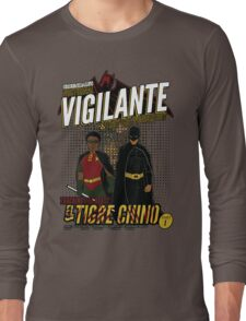 Greendale's Nocturnal Vigilante Long Sleeve T-Shirt