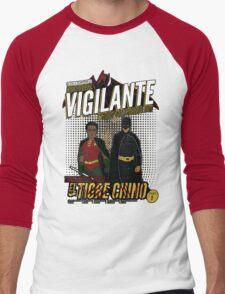 Greendale's Nocturnal Vigilante Men's Baseball ¾ T-Shirt