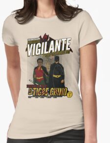 Greendale's Nocturnal Vigilante Womens Fitted T-Shirt