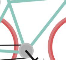 I love cycling Sticker